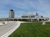 rear-of-four-points-sheraton-aiport-hotel-with-air-traffic-control-tower-at-winnipeg-international-airport