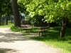 bench-and-resting-spot-along-walking-and-cycling-trail-on-the-red