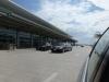 Limousines on departure Level at Winnipeg International Airport