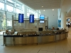 Information Counter at Winnipeg\'s International Airport