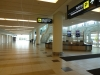 Arrivals level at Winnipeg International Airport