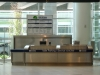 Valet Parking counter at Winnipeg\'s International Airport