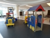 Kids play area at Winnipeg\'s International Airport departure level