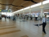 Departures at Winnipeg International Airport
