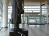 James Armstrong Richardson statue at Winnipeg James Armstrong Richardson International Airport