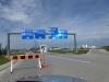 Driving into Winnipeg International Airport