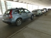 Taxi stand at Winnipeg James Armstrong Richardson International Airport arrivals level