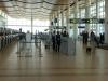 Departure level Escalator down to baggage carousels at Winnipeg International Airport